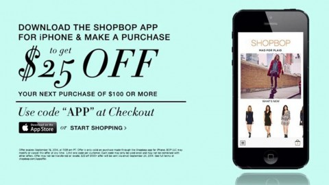 Shopbop goes on iTunes!