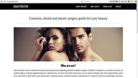 The Guide to Cosmetic, Dental and Plastic Surgery