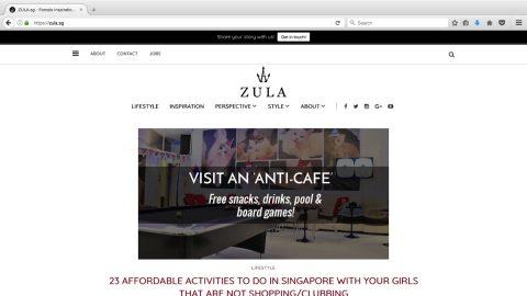 Zula.sg – Connecting Gen Y Singaporean Women