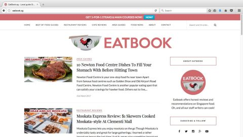 EatBook.sg – Where food tales are made local