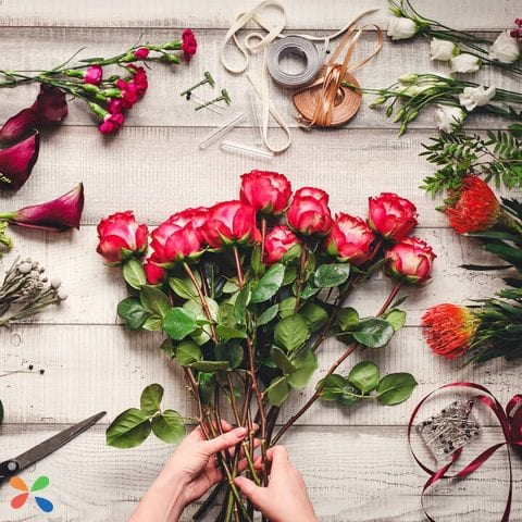 Creating memories with flowers with Lolaflora